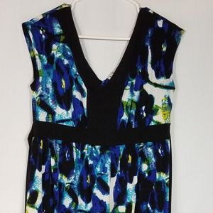 DUO MATERNITY DRESS Stretchy Floral Size M  PM48A
